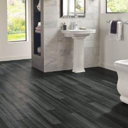 Empire walnut luxury vinyl tile | Chillicothe Carpet