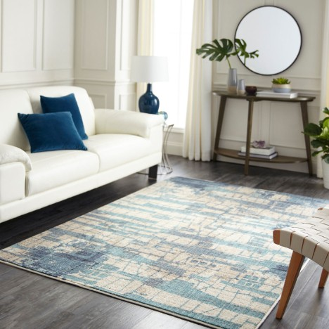 Area rug in living room | Chillicothe Carpet